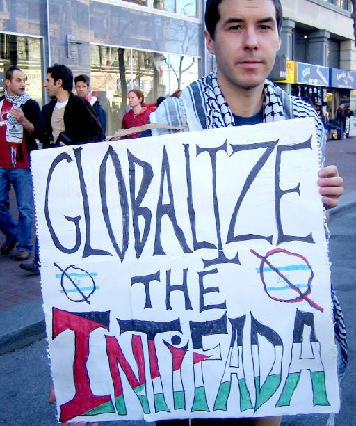 globalize the intifada